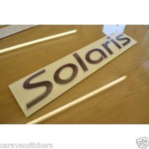 LUNAR Solaris STYLE Roof Or Side Caravan Sticker Decal - Graphics for caravanscaravan stickers ebay