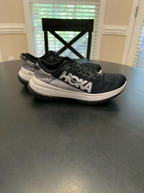 Hoka One One Carbon X Men's Running shoes - US Size 10.5D (Medium) Black/Nimbus