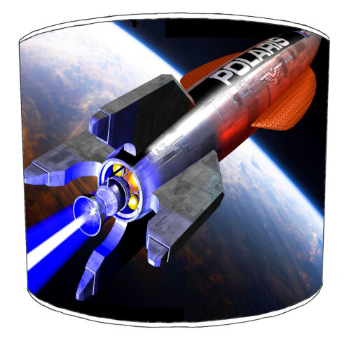 Outer Space NASA Rockets Lampshades Ideal To Match NASA Rockets Duvet Covers.