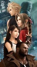 "007 Final Fantasy VII Remake Cloud Strife Action Game 24/""x51/"" Poster"