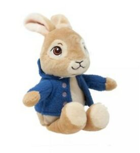 NEW-Peter-Rabbit-Beatrix-Potter-Soft-Toy-Plush-Blue-Hoodie-Baby-Shower-Gift-Idea