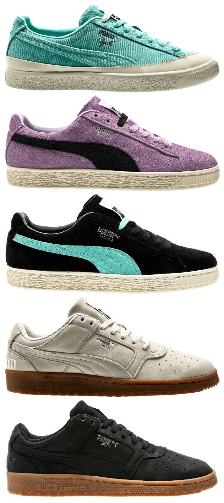 Puma x Diamond Clyde Sky II Suede Hombre Zapatos Sneaker caballero Zapatos  Zapatos Hombre 95e9b1