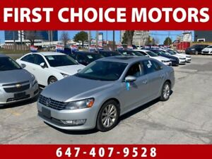 2012 Volkswagen Passat HIGHLINE ~AUTOMATIC, LOADED, FULLY CERTIFIED~