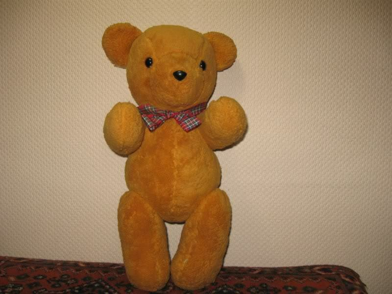 Vintage Dutch OOAK Adrie Teddy Bear 17 17 17 inch Handmade 1992 94ce90
