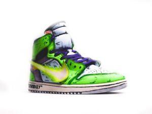BROLY inspired custom Nike air jordan 1