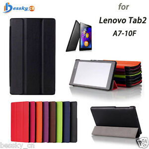 Luxury-Leather-Case-Flip-Stand-Case-Cover-For-Lenovo-Tab2-A7-10F-7inch-Tablet