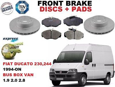 FIAT DUCATO 1100 1500KG VAN  BRAKE DISCS AND PADS 280MM MUST READ DESCRIPTION
