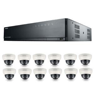 Samsung-16Channel-PoE-NVR-3tb-With-12-CCTV-Cameras-3yr-Warranty-FREE-CCTV-SIGN