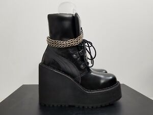 44769a0a5b7 Fenty by Rihanna Sneaker Boot Wedge 363039 01 Women s Size 4. - 8