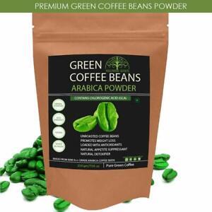 2x Hollywood Secrets 100 Pure Organic Green Coffee Bean Powder