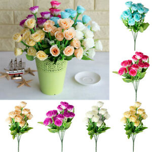 Am-1Pc-Artificial-Flower-Rose-Home-Garden-Stage-Wedding-Party-DIY-Decors-Reliab