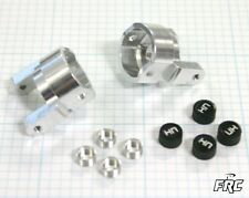 Hot Racing Losi Mini Rock Crawler silver aluminum c hubs MRC1908