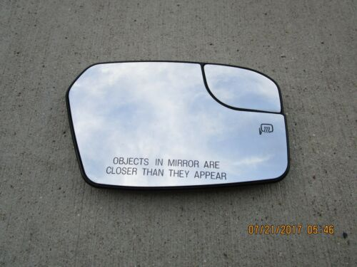 11-12 FORD FUSION PASSENGER RIGHT SIDE POWER HEATED EXTERIOR DOOR MIRROR GLASS