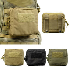 Tactical-Molle-Pouch-Waist-Pack-Phone-Pouch-Storage-Case-Cover-Military-Bags-NEW