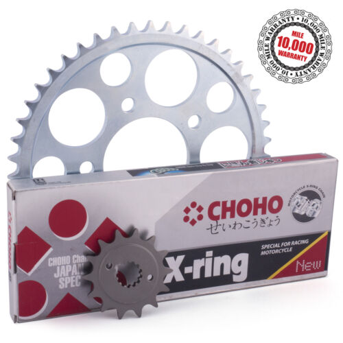 Kawasaki ZX636 C1H//C6F//D6F Ninja ZX-6R 2006  X-Ring Chain and Sprockets Kit