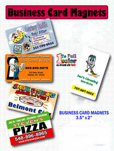image is loading 500 business card magnets ultra thick 30 pt - Business Card Magnets