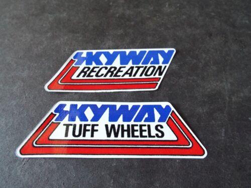 Old School BMX  Skyway sticker lot of 2