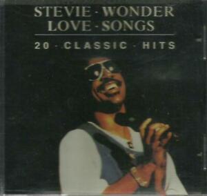 二手 早期日本版 CD冇花 STEVIE WONDER LOVE SONGS 20 CLASSIC HITS MY CHERIE AMOUR