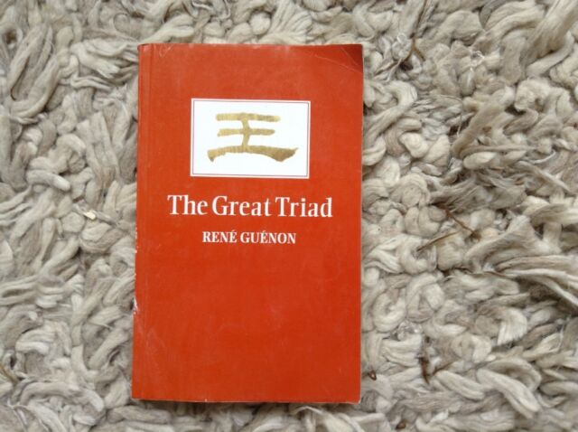 The Great Triad by Rene Guenon (Paperback, 2000)