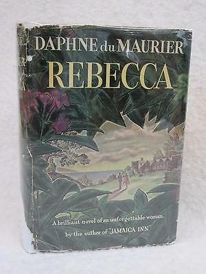 Daphne Du Maurier  REBECCA  Doubleday Doran and Co. 1939 Early Book Club Edition