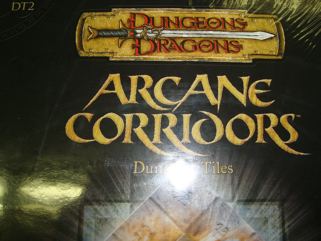 NEW  ARCANE CORRIDORS DT 2 DUNGEON TILES New Dungeons and Dragons GAME 3.5