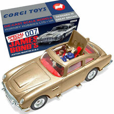 "James Bond 007  50th Anniversary ""THUNDERBALL"" Gold Aston Martin DB5"