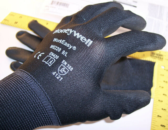 nEw ~ HoneyWell work easy Gloves sz 9/L Large ~ lathe machinist aircraft tool