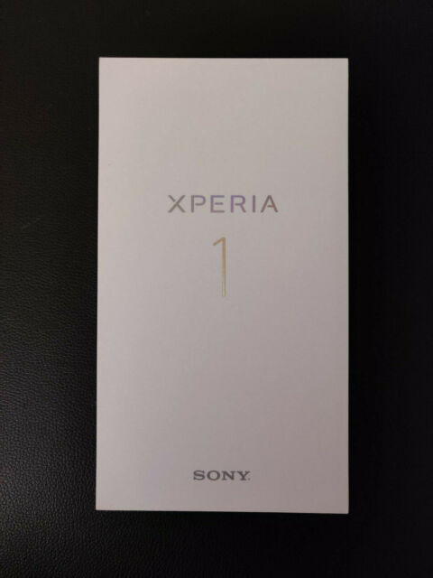 Sony Xperia 1 J8170 - 128GB - Black (Unlocked)