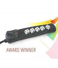 NEW APC P6B 6-Outlet Essential SurgeArrest(R) 120 V. Surge Protector 840 Joules