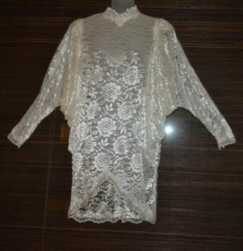 vintage 70s Does  20s GATSBY  Victorian   LACE  FL