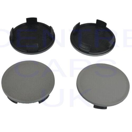 4 X Roue Alliage HUB Centre Caps 55 mm OD Pour 50 Mm ID Borbet Ronal aluett