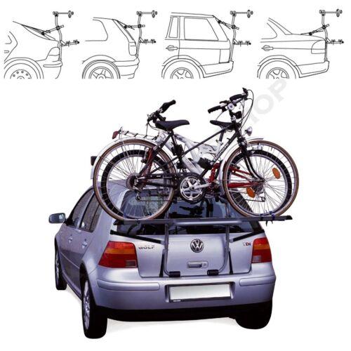 ab 2003 Fahrradträger Heckklappe für 2 Fahrräder Heckträger Kia Rio Bj