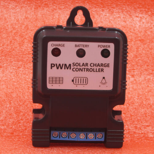Auto Solar Panel Charge Controller Battery Charger Regulator 6V 12V 10A PWM