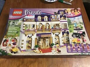 Lego 41101 Heartlake Grand Hotel 100 Completo Excelente Estado Ebay