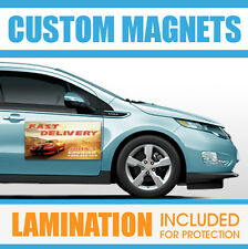 12x18 Custom Car Magnets Magnetic Auto Car Truck Signs -(QTY-2)