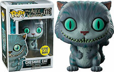 FUNKO POP CULTURE ALICE IN WONDERLAND CHESHIRE CAT GITD VINYL FIGURE NEW!