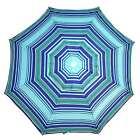 SHELTA COTTESLOE 200Cm Beach Shade Umbrella Tilt 98% UV UPF50+ NAVY / TURQUOISE
