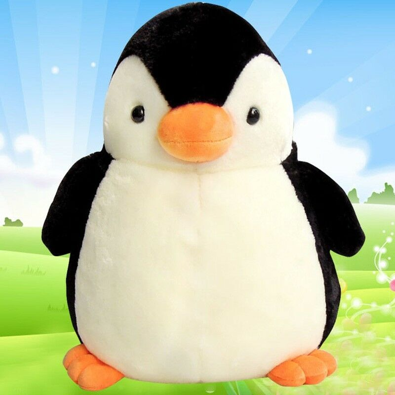 28  PENGUIN Stuffed Plush Soft Toy Pillow Cushion Animal Doll Birthday Gift 2019