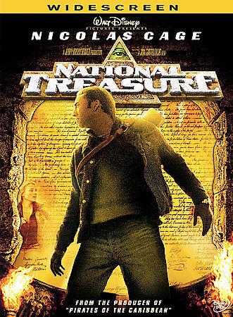 National Treasure DVD, 2005, Widescreen  - $5.95