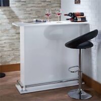 Acme Kite Bar Table In White on sale