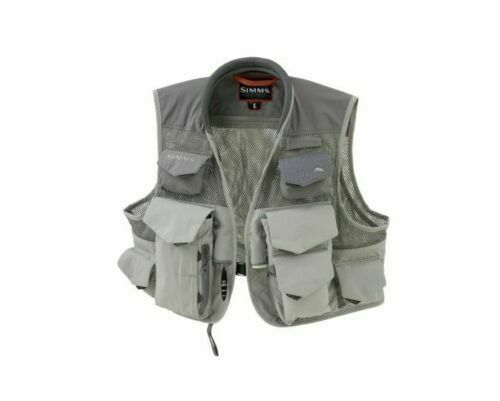 Simms  verdeical Mesh Vest Boulder  Diuominiione 2XL  Closeout