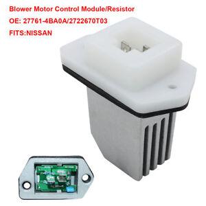 Nissan Nv3500 For Sale >> Blower Motor Regulator Resistor 2722670T03 for Nissan NV1500 NV3500 Rogue Sentra 602045881028   eBay