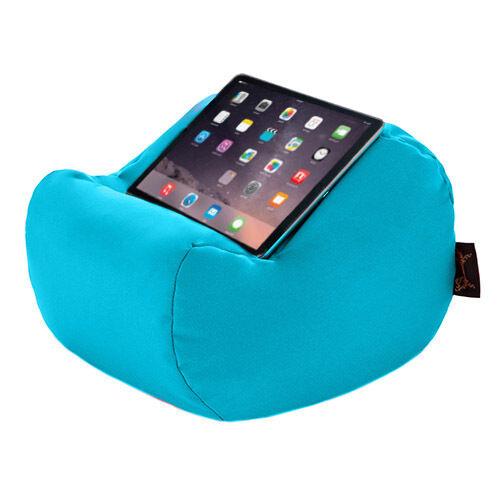 Turquoise étanche tablette livre reste coussin bean sac coussin support iPad Kindle