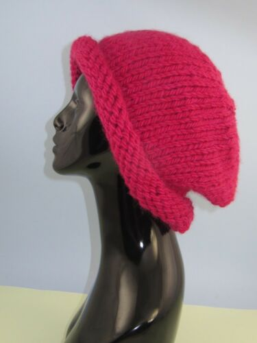 SUPERCHUNKY ULTIMATE SLOUCH HAT KNITTING PATTERN PRINTED KNITTING INSTRUCTIONS