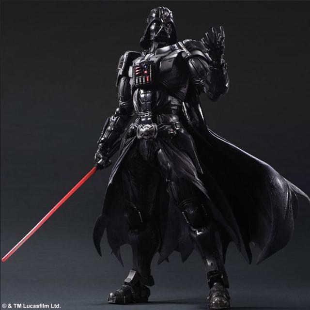 Star Wars VARIANT Play Arts Kai Darth Vader PVC Action Figure