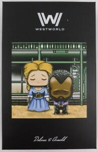 Loot-Crate-WestWorld-Dolores-and-Arnold-Artist-Series-Super-Emo-Friends-New