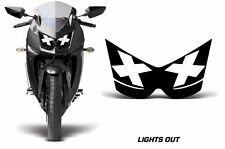 AMR Racing Head Light Eyes Kawasaki Ninja 250R 08-12 Street Bike Headlight L OUT