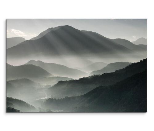 120x80cm Leinwandbild auf Keilrahmen Landschaft Berge Taiwan