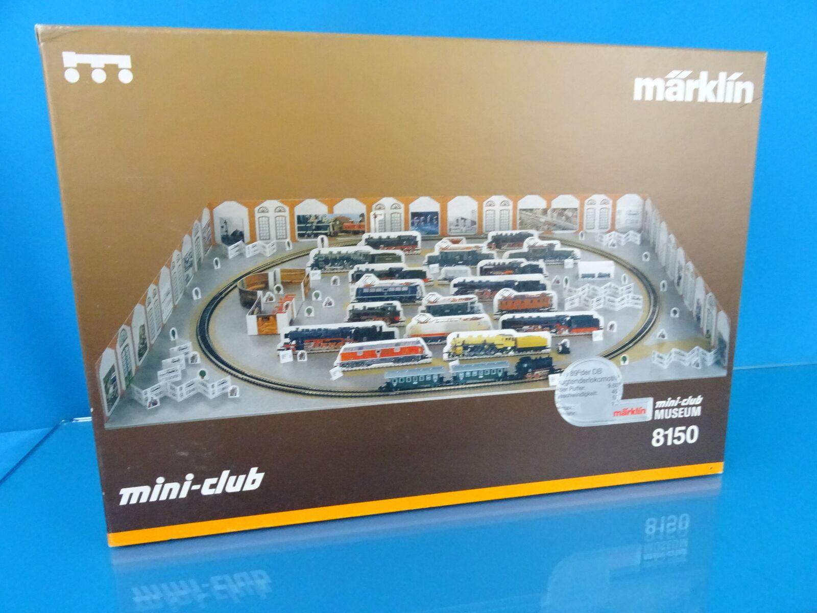 Marklin 8150 Starter Set  Mini Club MUSEUM  Z Mini club