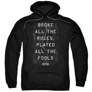 Dc Band Paroles Sous Thunderstruck Rock Licence Sweatshirt Acdc Ac cTK1lFJ